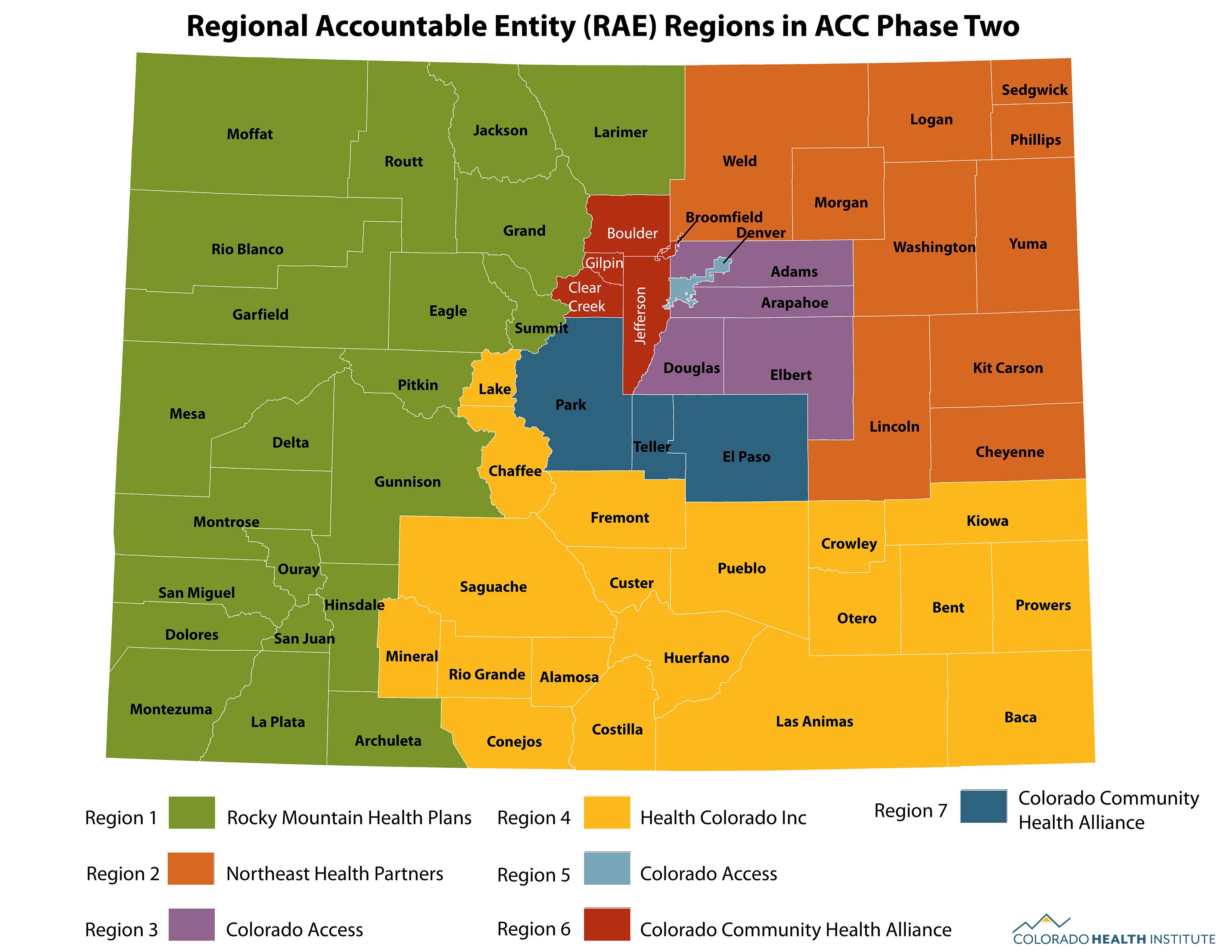 RAE regions map