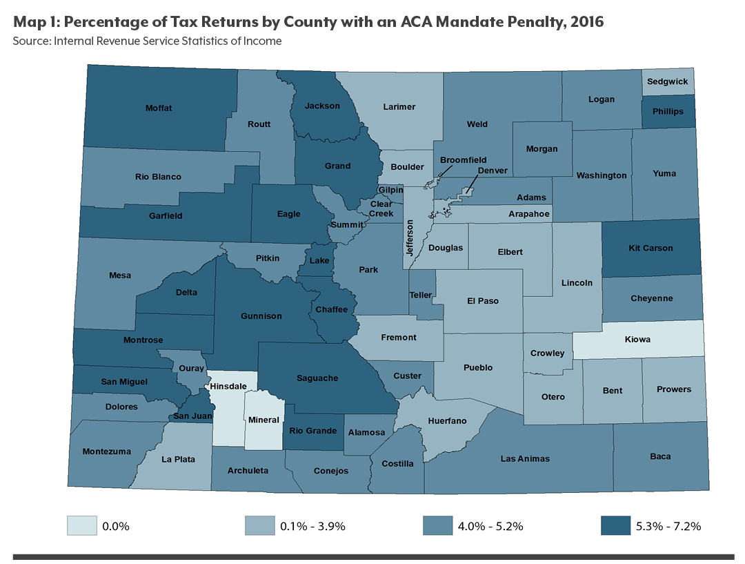 Map of penalty payers