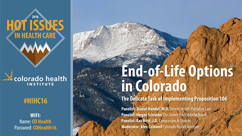 End of Life Options in Colorado