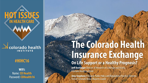Colorado health insurance exchange on life support or a healthy prognosis?