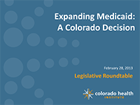Medicaid Expansion Roundtable Presentation